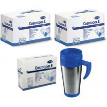 PROMO PACK: 2x Cosmopor E 7,2 x 5 cm + 1 x Cosmopor E 10 x 8 cm + 1 x Thermosbeker 0,42 L
