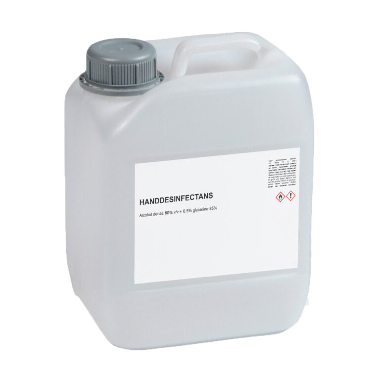 Ethanol 80% met glycerine (WHO-Formulatie) - 5 Liter