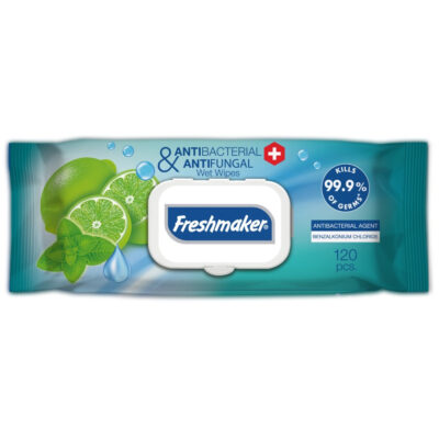 Antibacteriële vochtige doekjes Freshmaker