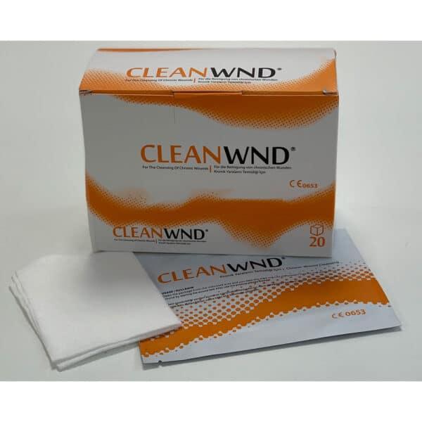 CleanWND steriele vochtige debridement doekjes
