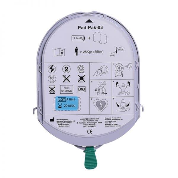 PadPak (electrodenset + batterij) voor Samaritan