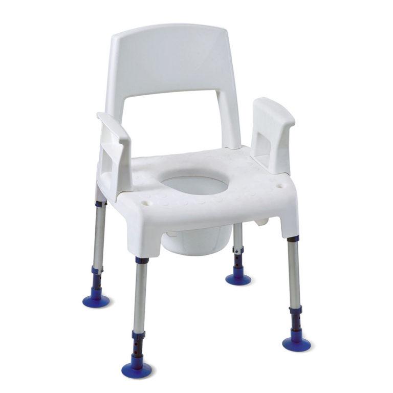 Toilet/douchestoel (kan over toilet gezet) 3 in 1 Safe