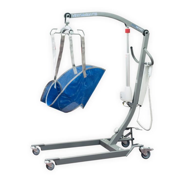 Patiëntenlift 175 kg tilkracht, medium vest, oplaadbare batterij