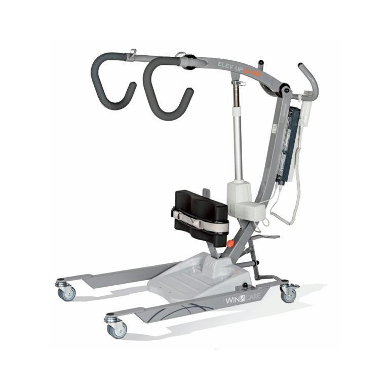 Patiëntenlift Actief – Elev-Up – 150 kg tilkracht, standaard vest, oplaadbare batterijen