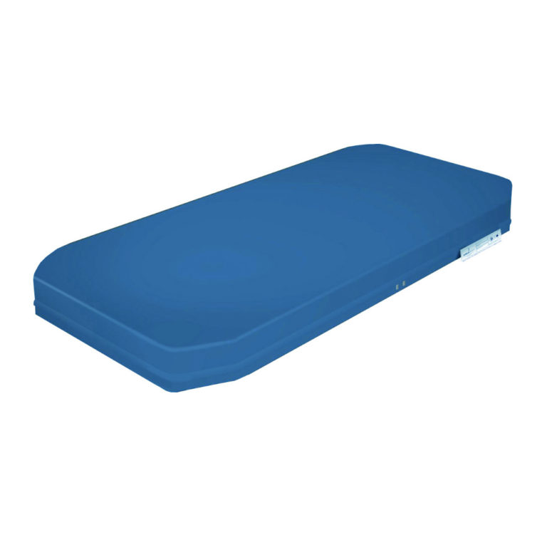 Matras voor thuiszorgbed 90x198x14 – afwasbare hoes – standaard PU vulling