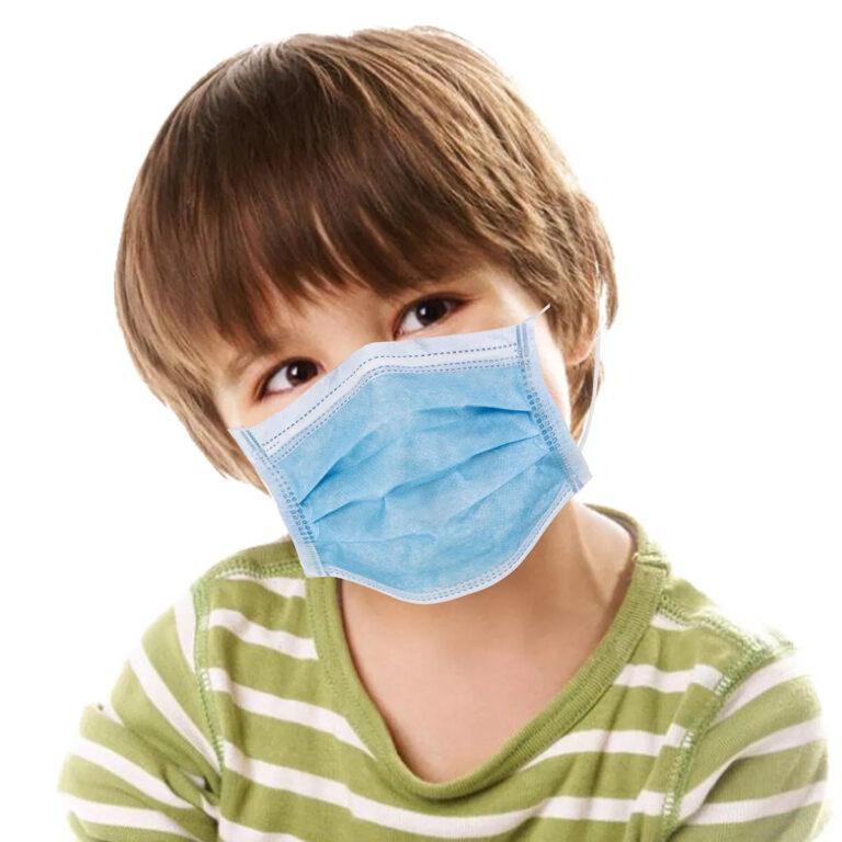 Chirurgisch IIR mondmasker voor KINDEREN - 50 STUKS