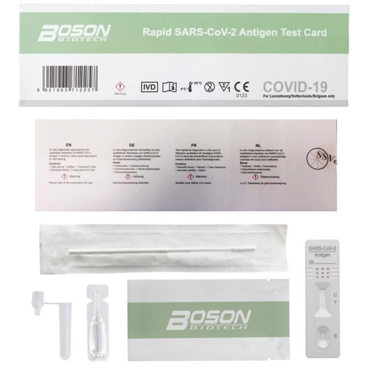 BOSON sneltest covid-19