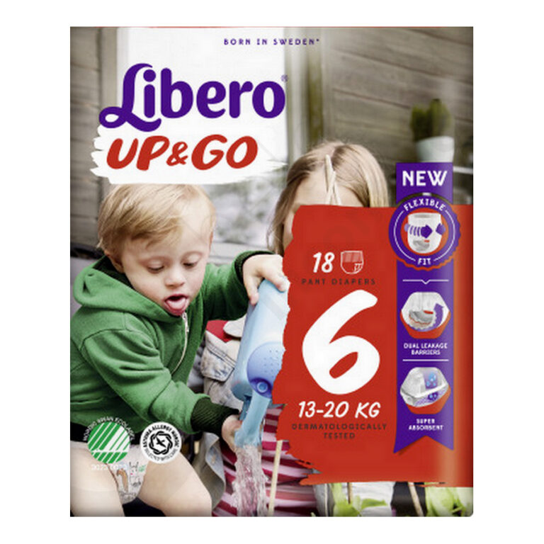 Libero Up & Go nr 6 Babypampers