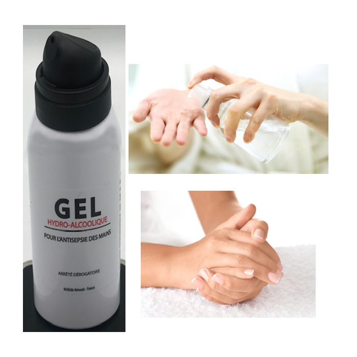 Handontsmetting Handgel Spray