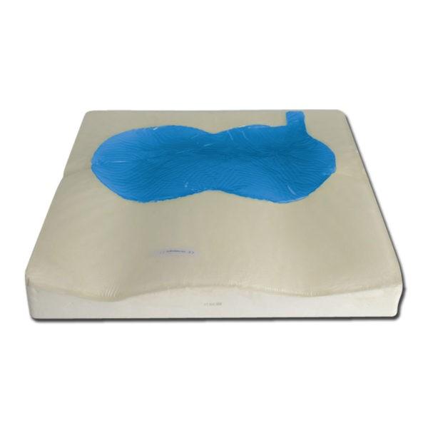 Zitkussen anti-decubitus visco-gel 43 x 43 x 7 cm