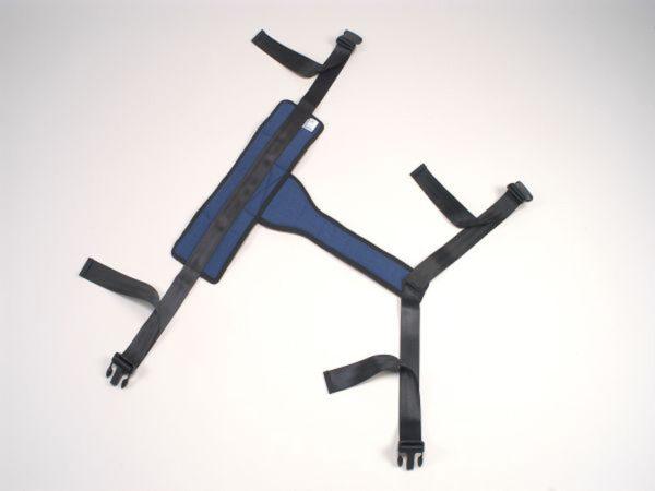 Safebelt – bekkengordel – voor fixatie patient in zetel/rolstoel