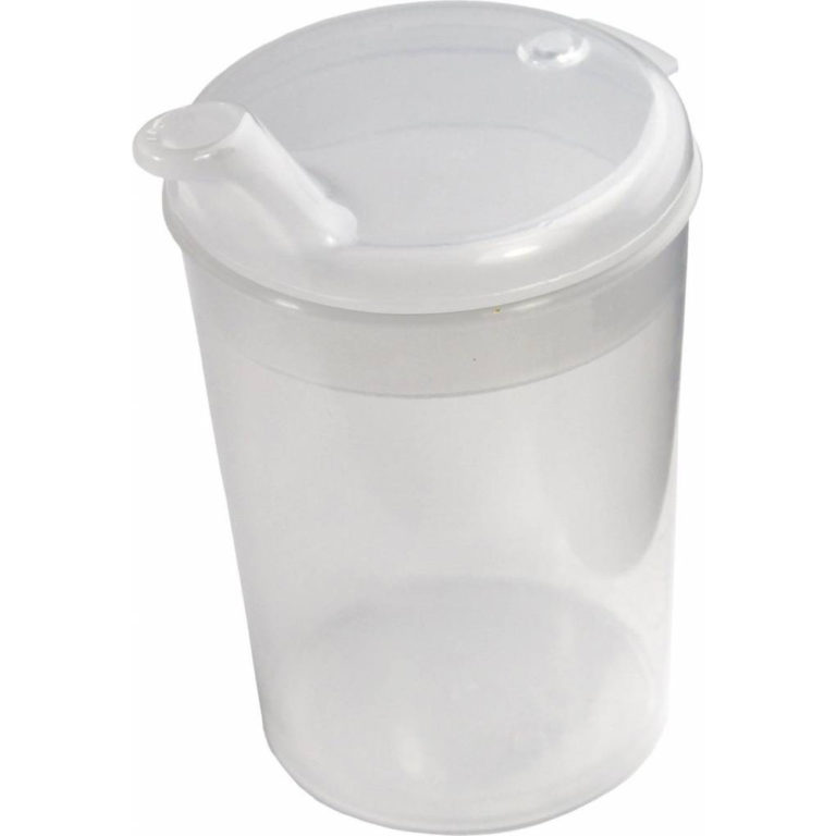 Drinkbeker plastiek (autoclaveerbaar) – 4mm
