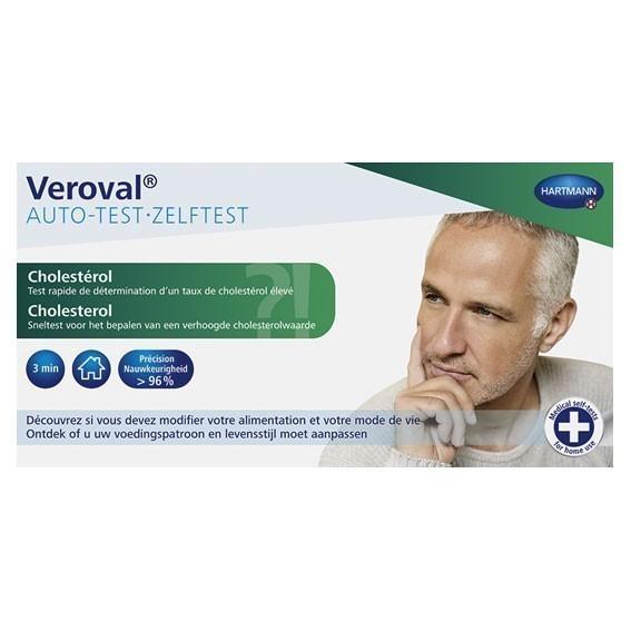 Veroval zelftest Cholesterol - 1 stuk