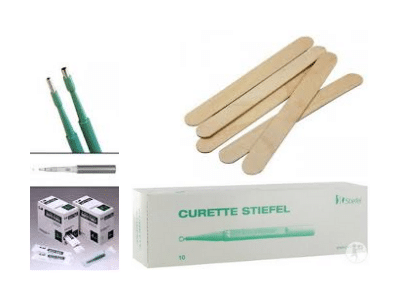 Instrumenten éénmalig gebruik