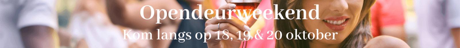 opendeurweekend oktober 2019