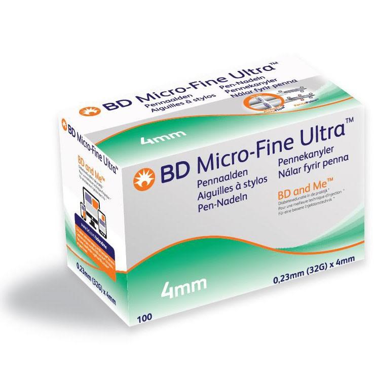 BD Micro-Fine Ultra™ 4mm x 0,23mm (32G) pen needle