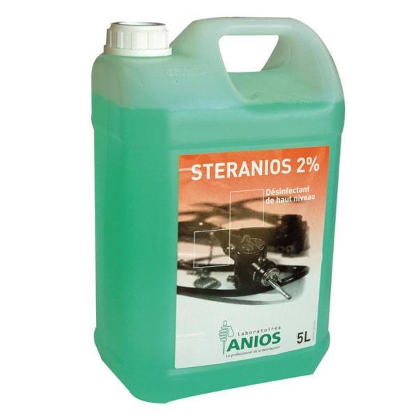 Steranios 2% - instrumentenreiniging en ontsmetting - 5 liter