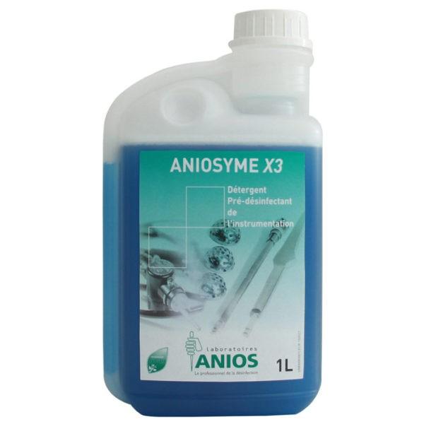 Aniosyme X3 - met doseerkop 25ml - reiniging en pré-ontsmetting van instrumenten - 1 liter