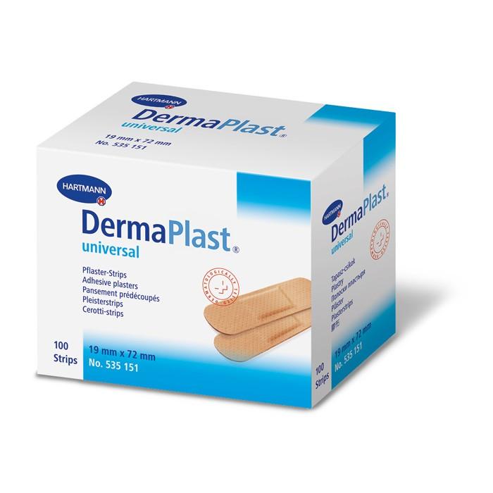 Dermaplast universal 19 x 72 mm - 100 strips