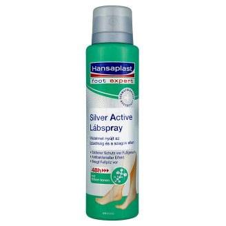 Foot-expert Hansaplast Silver Active Anti-transpirant Voetenspray 150 ml