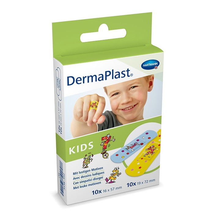 Dermaplast kinderpleisters - 20 stuks