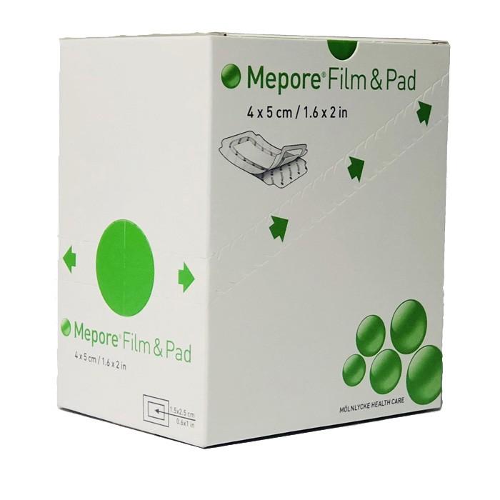 Mepore Film + pad 4cm x 5cm - 85 stuks