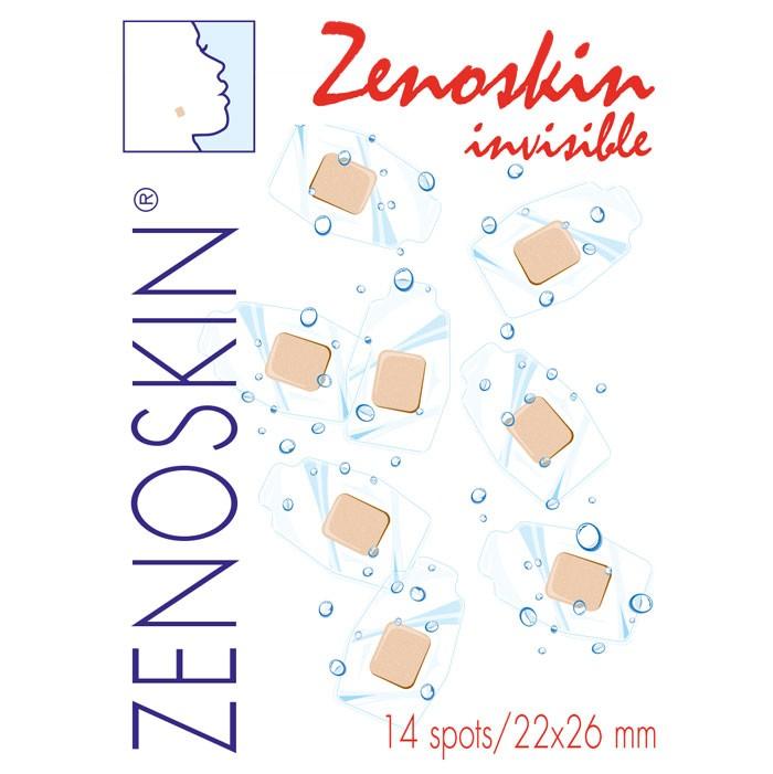 Pleisters waterproof Zenoskin spots 22x26cm - 14 stuks