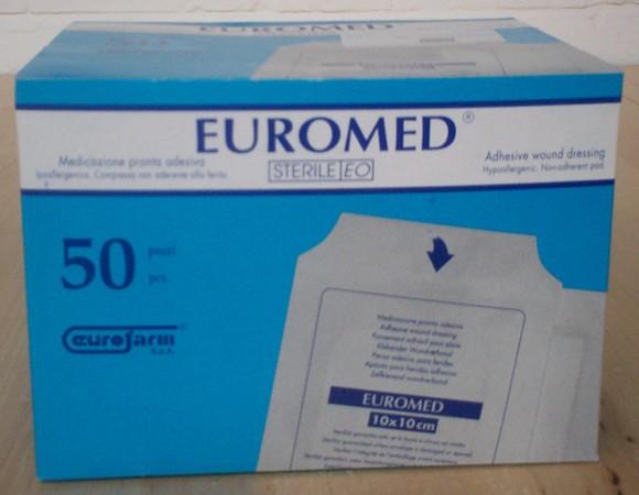 Euromed 10cm x 10 cm 50st
