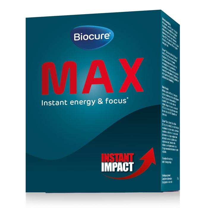Biocure Max Voedingssupplement voor instant energie en focus