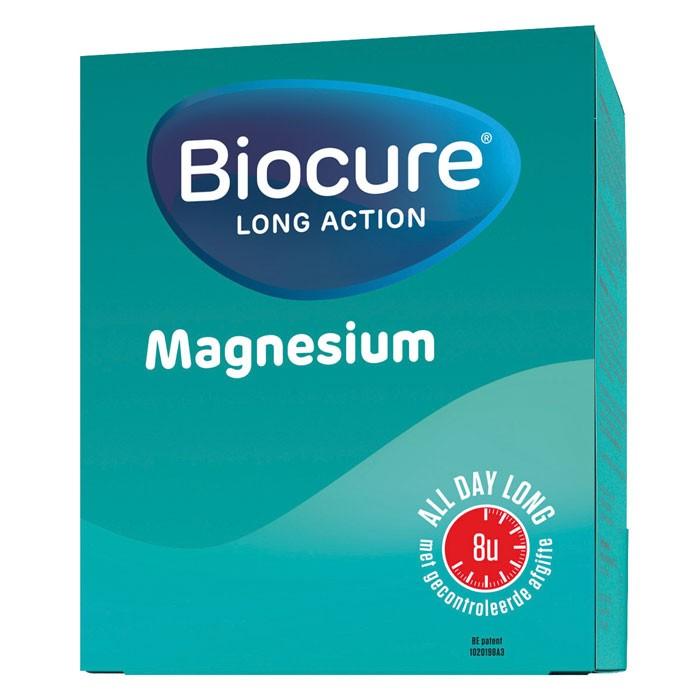 Biocure Long Action Magnesium - 60 tabletten