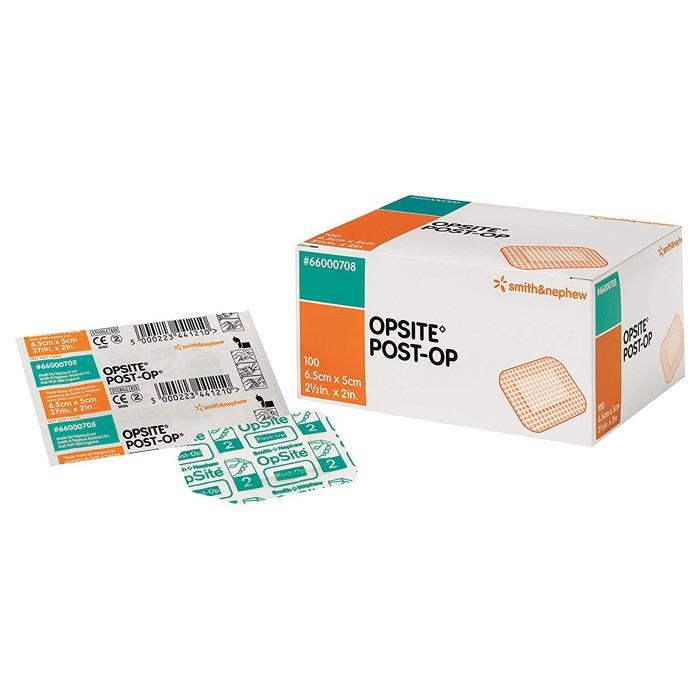OpSite Post-Op 6,5 cm x 5 cm - 100 stuks