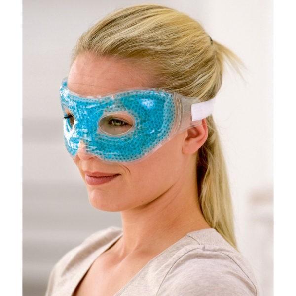 SISSEL® HOT-COLD - oogmasker met parelige gelvulling - 1 st