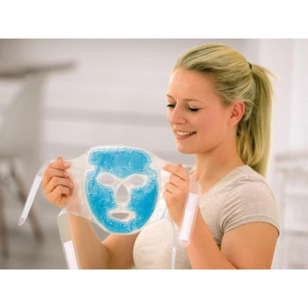 SISSEL® HOT-COLD - gezichtsmasker met parelige gelvulling - 1 stuk