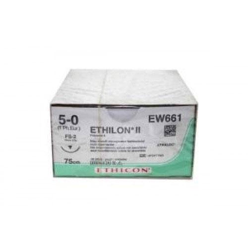 Ethilon 5/0 75cm 19TRI3/8 EW661 36st