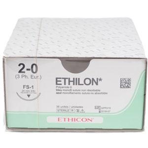 Ethilon 2/0 75cm 26TRI3/8 EXN32 36st
