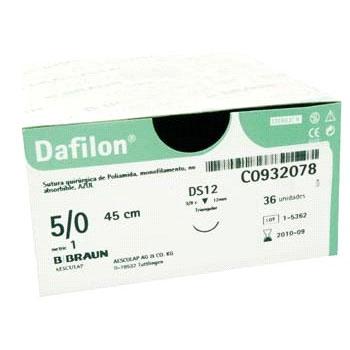Dafilon Blue 5/0 DS 19mm 45 cm 36 stuks