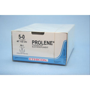 Prolene 5/0 45cm 15TRI3/8 BP527 36st
