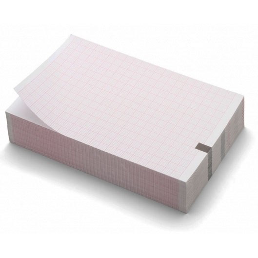 EKG-papier Welch Allyn CP50 - Z-fold - 4 pakken