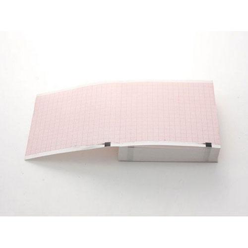 EKG-papier Schiller AT1 - 90x90mm x 400p zig zag 10st