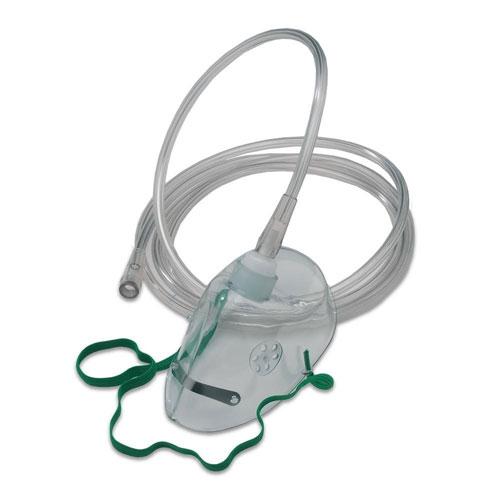 Aerosolset voor kinderen (slang, beker, masker)