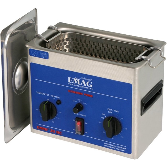 Ultra-sonne Reiniger met temperatuurregeling - EMMI 20HC - 2 liter