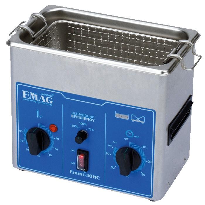 Ultra-sonne Reiniger met temperatuurregeling - EMMI 30HC - 3 liter