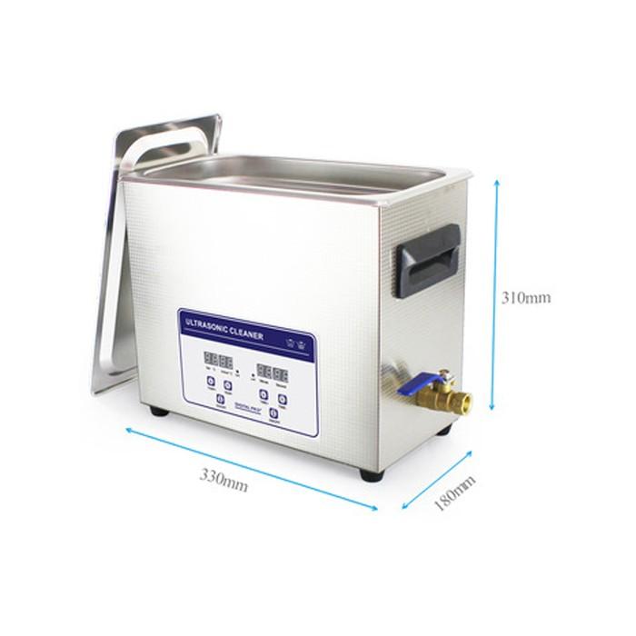 Ultra-sonne Reiniger Digital PRO met temperatuurregeling - 6,5 liter
