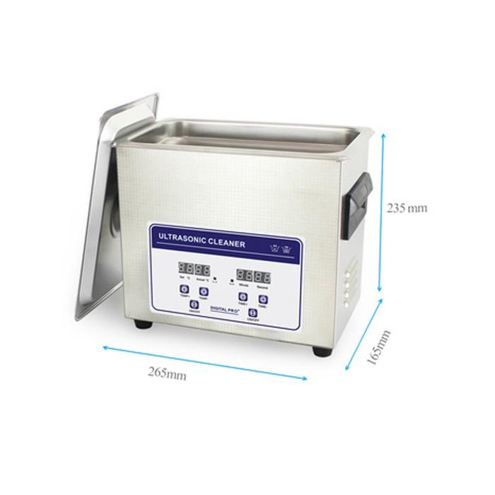 Ultra-sonne Reiniger Digital PRO met temperatuurregeling - 3,2 liter