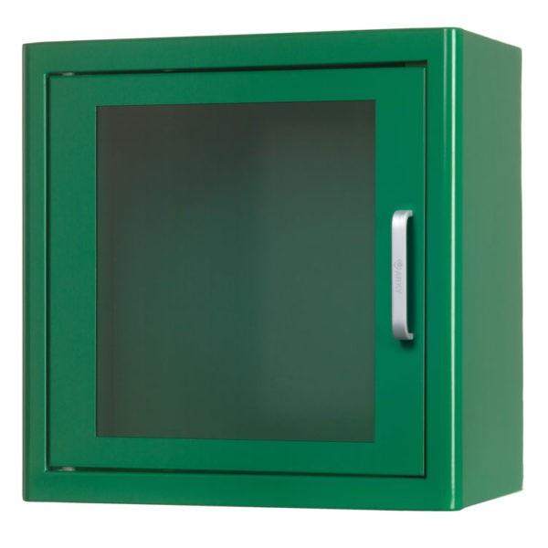 ARKY metalen AED kast voor binnen - Incl. alarm - groen
