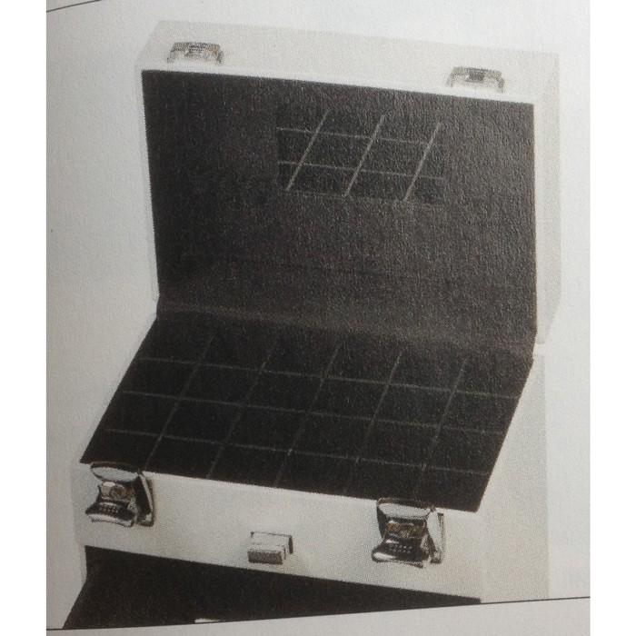 Verzorgingskoffer / Beautycase - 23 x 22,5 x 16 cm