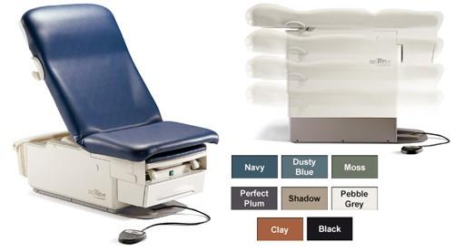 Ritter 222 onderzoekstafel - Electrisch hoog-laag tafel - seamless bekleding