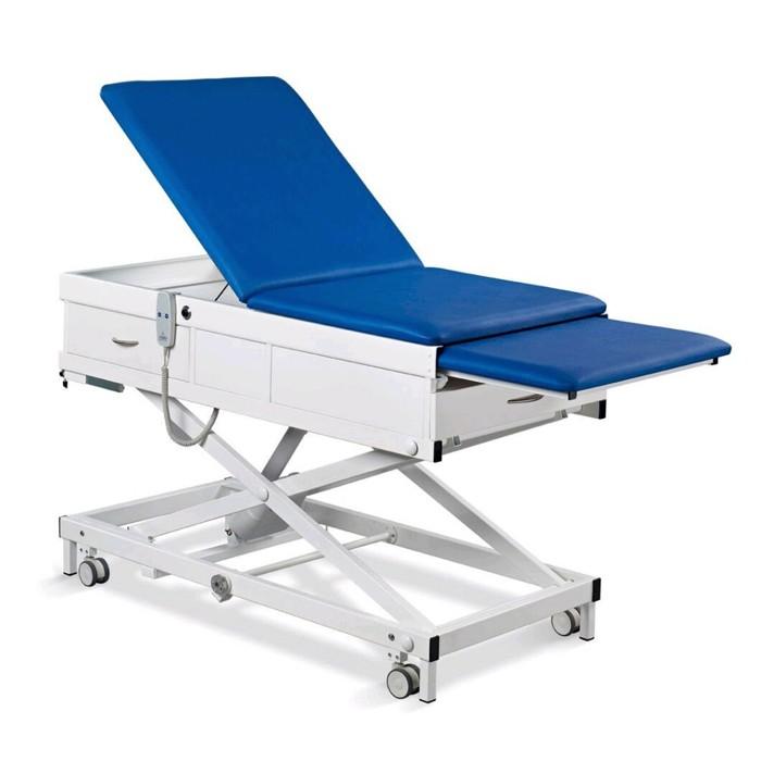 Onderzoekstafel MME-V - Mini-Multo electronic - elektrisch hoog-laag - met lade aan voeteneind
