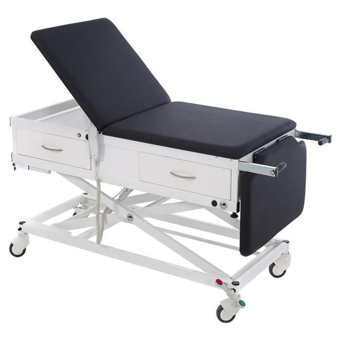 Onderzoekstafel MMEL-V - Mini-Multo electronic - elektrisch hoog-laag - met lade aan voeteneind