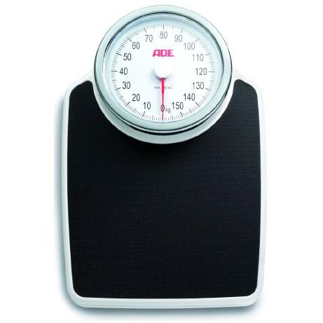 ADE - Mechanische weegschaal - wit/zwart - 160 kg